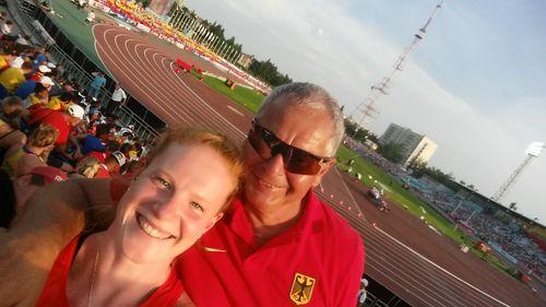 Betty Heidler und der HLV gratulieren Michael Deyhle